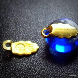 kõrvarõngastele 1 komplekt kuldne
