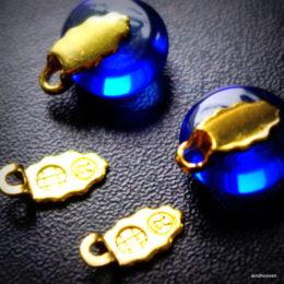kõrvarõngastele 2 kompleti kuldne